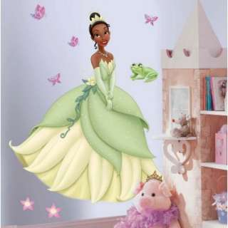 Halloween Costumes Princess Tiana Giant Wall Decals