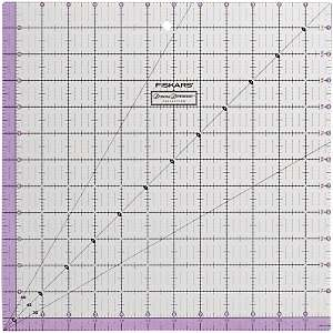 Donna Dewberry Collection Easy to Read Ruler   12 1/2 x 12 1/2 at