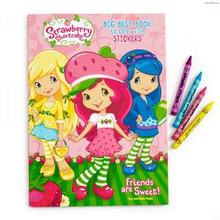 Strawberry Shortcake Big Best Coloring Book