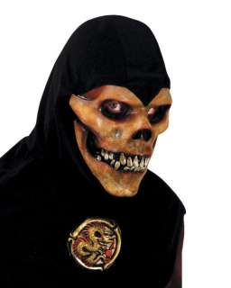Adult Skull Ninja Mask with Hood   Ninja Skull Mask With Hood   The