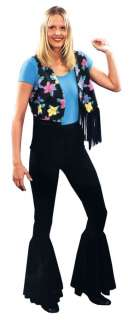 Adult 70s Bell Bottom Pants Costume   Add a groovy 70s style to your