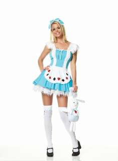 Adult Sexy Alice Playing Cards Costume   Alice in Wonderland Costumes