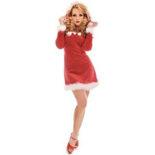 Adult Sexy Ms. Kringle Costume   All Dressed and Ready for Christmas