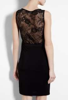 Love Moschino  Black Sleeveless Lace Back Dress by Love Moschino