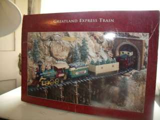 New Bright 875\152 Greatland Express Train, G Scale