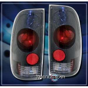 Ford F350 Tail Lights Carbon Altezza Taillights 1997 1998