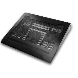 CS0904 15 Laptop Cooling Pad with 4 Port USB Hub, 3 x