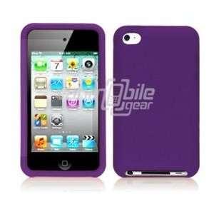 VMG Apple iPod Touch 4 4th Generation Skin Case Cover   Purple Premium