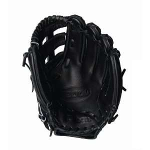 Wilson A2000 Fastpitch Model Dual Post Web Glove, Black