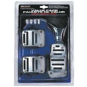 Pilot PM 252E Black Pedal Combo Kit Manual Transmission