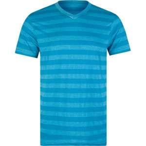 BLUE CROWN Rugby Stripe Mens V Neck T Shirt 154527241  Solid & Stripe