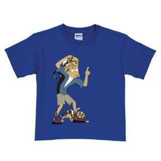 Wild Kratts Cheetah Cubs Royal Blue T Shirt by Tys Toy Box