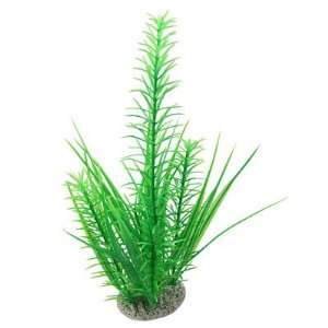 Como Aquarium Fish Tank Ornament Plastic Plant Green w