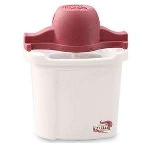 Back To Basics IC10885 4 Qt. Plastic Bucket Ice Cream Maker
