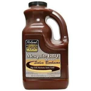 Roland Fusion Mesquite BBQ Sauce, 1 Gallon Plastic Jug