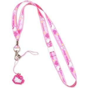 [Hello Kitty] bare neck strap Sanrio neck strap series
