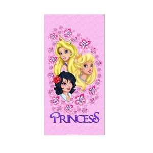 Princess Beach & Bath 30 X 60 Towel   Pink  : Home & Kitchen