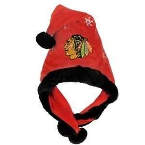 Chicago Blackhawks NHL Thematic Santa Hat