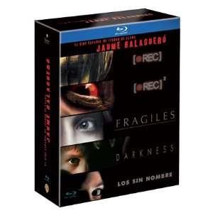 Blu Ray DVD Box Set (, Jaume Balagueró Collection   5 Blu Ray DVD Box