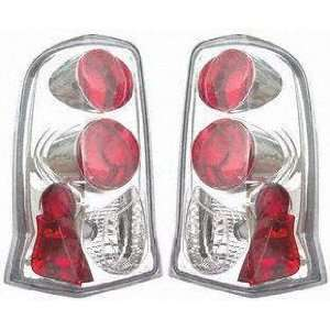 03 05 CADILLAC ESCALADE ESV ALTEZZA CRYSTAL CLEAR TAIL LIGHT SUV, one