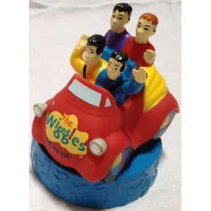 Wiggles the Big Red Car 4 Plastic Figure Cake Topper