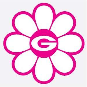 FLOWER vinyl decal car truck die cut sticker UGA