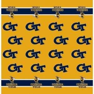Collegiate Team Table Cloth Card Team Georgia Tech