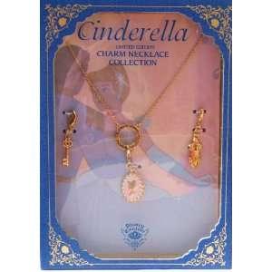 Disney Couture Cinderella Lim. Ed. Charm Necklace
