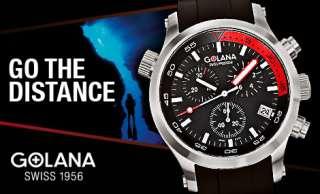 Golana Swiss Watches, Terra, Aero, Aqua, Aura, Advanced