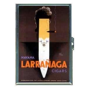 Havana Cuba Cigar Retro Ad ID Holder, Cigarette Case or Wallet MADE