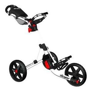 Clicgear 3.0 Push Golf Cart   White