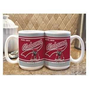 Crimson Tide UA NCAA Coffee Mug   Jersey Style