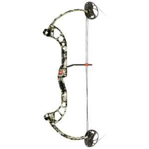 PSE Chaos FC Compound Bow Skulz Camo / Right Hand: Sports