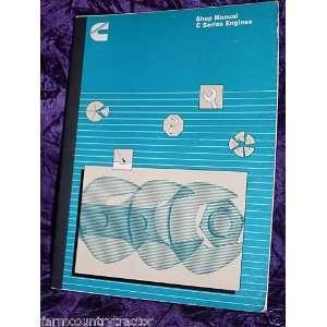 Cummins C Series Engines OEM Service Manual Cummins C Books