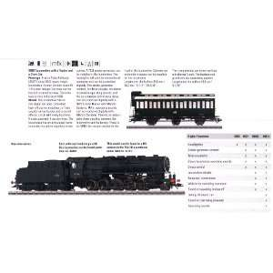 SNCF cl 150X Loco w/Tender & Crew Car   Discontinued Toys & Games