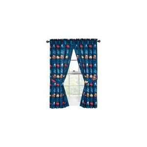 Disney Pixar Cars Mater Curtain Panel 42in X 63in