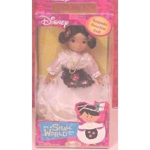 Disney Brass Key Mexico Keepsake Porcelain Doll Toys & Games