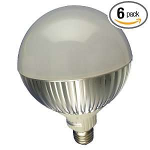E27 6 Non Dimmable High Power 9 LED Par38 Lamp, 14 Watt Cold White, 6