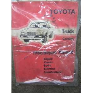 1984 Toyota Truck (Gasoline) Repair Manual (Engine