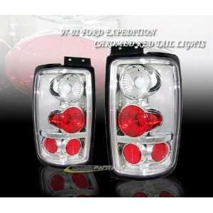 Ford Expedition Tail Lights Euro Chrome Taillights 1997 1998 1999 2000