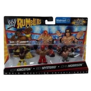WWE Wrestling Rumblers Exclusive Mini Figure 3Pack Kofi Kingston