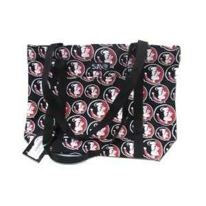 Florida State Seminoles (FSU) Black Tote Bag