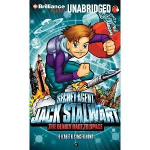 Jack Stalwart Book 9 The Deadly Race to Space Russia [Audio CD