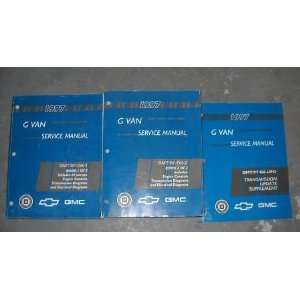 OEM (Service Manual Set, and the service manual supplement.) gm