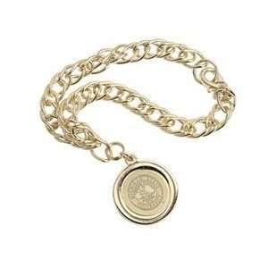 Michigan State   Charm Bracelet   Gold