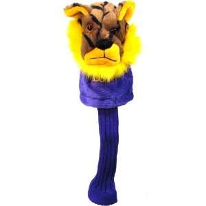 LSU Tigers Mascot Golf Club Head Cover: Sports & Outdoors