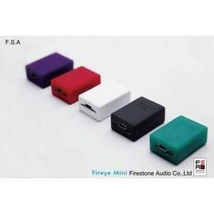 : Firestone Audio Fireye Mini Headphone Amplifier in Red: Electronics