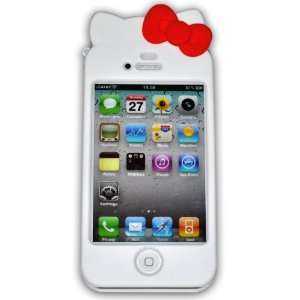 Ec00151a Hello Kitty Iphone 4s Case Hard Case Cover for
