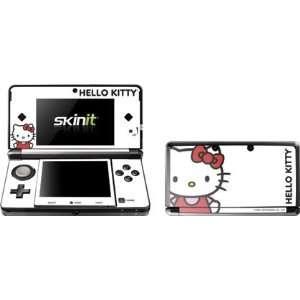 Hello Kitty Classic White Vinyl Skin for Nintendo 3DS Electronics