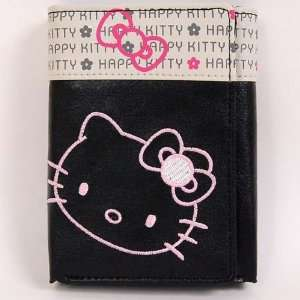 Hello Kitty Trifold Mini Wallet Card Holder Black Toys